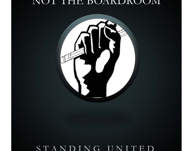 Standing united poster